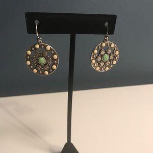 Lucky Brand stone earrings